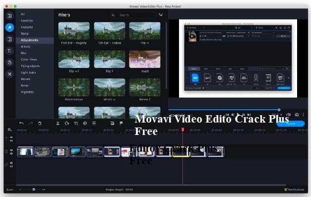 Movavi Video Editor 21.4.0 Crack