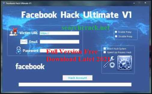 Facebook Hacker Pro 2022 Crack