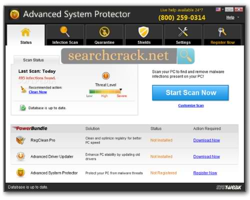 Key Features Of Advanced System Protector