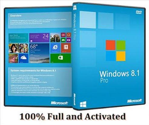 Windows 8.1 Pro Crack + Activator