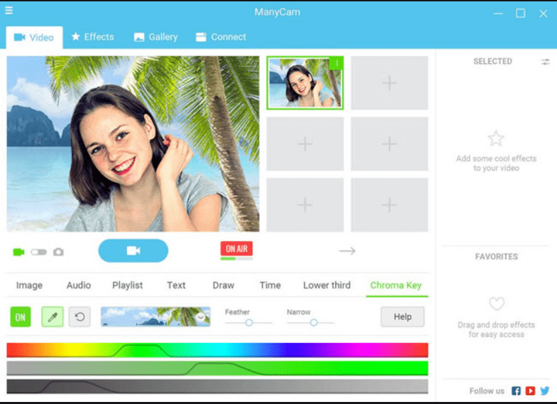 ManyCam Pro Crack it's used to allow video chat by using webcam