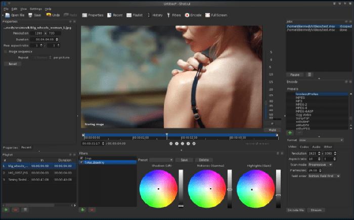 ShotCut Video Editor 21.02.27 + Crack