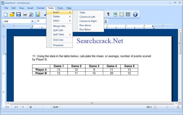 Ableword Free PDF Editor