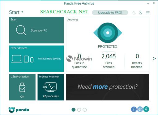 Panda Antivirus Pro Crack Features